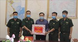Lạng Sơn kiểm tra công tác phòng chống dịch trên biên giới