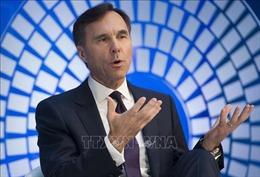 Bộ trưởng Tài chính Canada thông báo từ chức