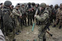 Duy trì lệnh ngừng bắn tại miền Đông Ukraine