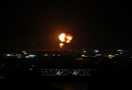 Israel không kích các mục tiêu Hamas tại Dải Gaza