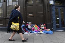Số người vô gia cư ngủ trên đường phố tại Anh tăng mạnh