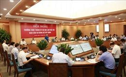 Bí thư Thành ủy Hà Nội Vương Đình Huệ: Đẩy mạnh phát triển các khu đô thị văn minh, hiện đại
