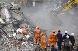 Sập công trình đang thi công ở Ấn Độ khiến ít nhất 8 người thiệt mạng