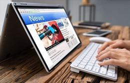 Thu tiền đọc báo online: Tương lai của ngành truyền thông