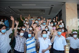 Sự hỗ trợ kịp thời của ngành y tế các tỉnh góp phần giúp Đà Nẵng kiểm soát dịch bệnh