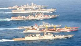 Nga và Ấn Độ tập trận trên Vịnh Bengal