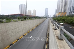 Hà Nội sẽ cải tạo các hầm chui trên đường gom Đại lộ Thăng Long