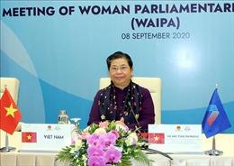 Những hình ảnh về Hội nghị Nữ nghị sĩ AIPA