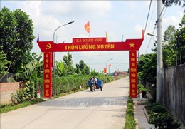 Đổi thay ở huyện cuối cùng của Hà Nam về đích nông thôn mới