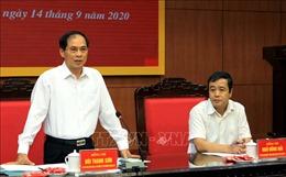Đoàn công tác của Bộ Ngoại giao làm việc tại tỉnh Thái Bình