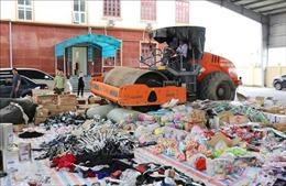 Ninh Bình tiêu hủy số lượng lớn hàng hóa vi phạm