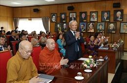 Ông Uông Chu Lưu tái đắc cử Chủ tịch Ủy ban Hòa bình Việt Nam nhiệm kỳ 2020-2025