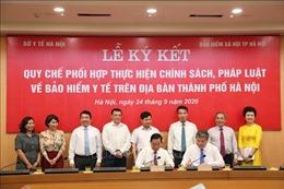Hà Nội: Liên ngành Bảo hiểm xã hội -Y tế ký cam kết ngăn chặn trục lợi bảo hiểm