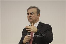 Cựu Chủ tịch tập đoàn Nissan lần đầu tiên xuất hiện công khai tại Liban