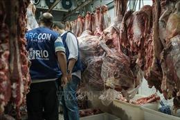 Trung Quốc đình chỉ nhập khẩu từ nhà xuất khẩu thịt bò lớn nhất Brazil do lo ngại virus SARS-CoV-2