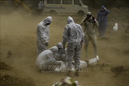 Số ca tử vong do COVID-19 tại Ấn Độ vượt 100.000 người