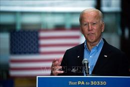 Cựu Phó Tổng thống J.Biden kêu gọi mọi người đeo khẩu trang phòng dịch COVID-19