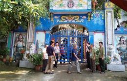 Xử lý các sai phạm trong quản lý, sử dụng đất đai, hoạt động tín ngưỡng tại đền Đá Thiên