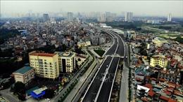 Cầu cạn Mai Dịch - Nam Thăng Long sẽ thông xe ngày 10/10