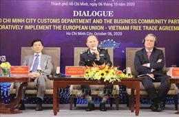 Hải quan đồng hành cùng doanh nghiệp thực thi Hiệp định EVFTA