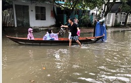 Nhiều công trình công cộng, tài sản của người dân ở Quảng Nam bị thiệt hại do mưa lớn