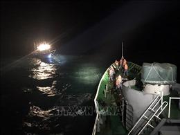 Nghệ An: Cứu nạn thành công 6 thuyền viên trên biển