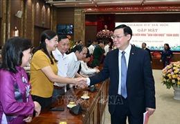Thành ủy Hà Nội gặp mặt 203 tấm gương điển hình 'Dân vận khéo' toàn quốc