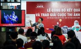 Trao giải thưởng ảnh về dân tộc Việt Nam kiên cường phòng, chống dịch COVID-19
