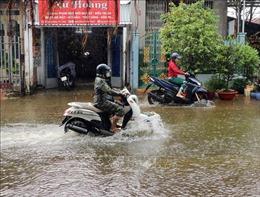 Một số địa phương của tỉnh Cà Mau cho học sinh nghỉ học do mưa lớn kéo dài