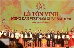 Vinh danh 63 nông dân Việt Nam xuất sắc năm 2020