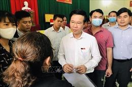 Trưởng ban Tuyên giáo Trung ương tiếp xúc cử tri tại Đồng Nai