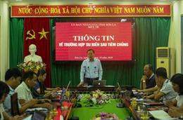 Khẩn trương đánh giá nguyên nhân tai biến sau tiêm chủng tại tỉnh Sơn La và Vĩnh Phúc