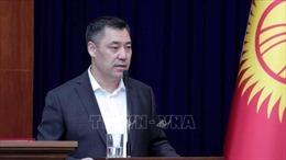 Ông Sadyr Zhaparov chính thức trở thành thủ tướng Kyrgyzstan