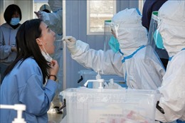 Trung Quốc ghi nhận thêm 6 ca mắc COVID-19 trong cộng đồng