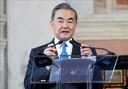 Ngoại trưởng Trung Quốc thăm Thái Lan