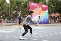 Hà Nội: Sôi nổi Giải đấu quần vợt hữu nghị 2020