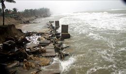 Quảng Nam: Mưa lũ làm sạt lở hơn 400m bờ biển Thịnh Mỹ