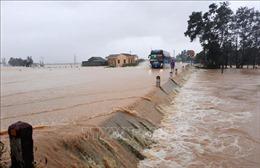 Quảng Trị: Khẩn trương khắc phục sự cố trên tuyến đường sắt và Quốc lộ 9