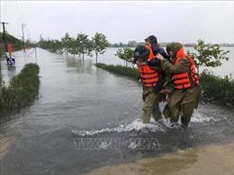 Chung tay hỗ trợ các địa phương bị thiệt hại do lũ lụt, sạt lở đất