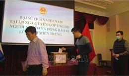 Người Việt tại LB Nga một lòng hướng về miền Trung