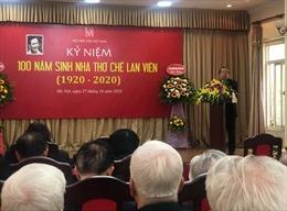 Nhà thơ Chế Lan Viên - Người góp phần đưa nền thơ dân tộc lên đỉnh cao