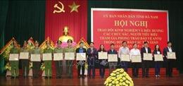 Hà Nam: Biểu dương các chức sắc, người tiêu biểu trong phong trào bảo vệ an ninh Tổ quốc