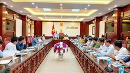 Đoàn công tác Bộ Nông nghiệp và Phát triển nông thôn làm việc với Bến Tre về chống khai thác IUU