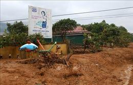 Quảng Trị: Núi Tà Bang (Hướng Hóa) nứt dài 200m, di dời khẩn cấp 165 người dân sống dưới chân núi