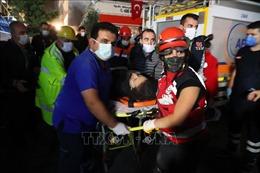 Thêm nhiều nạn nhân thương vong trong thảm họa động đất tại Thổ Nhĩ Kỳ và Hy Lạp