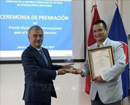 Trao Giải thưởng toàn quốc về thông tin đối ngoại cho các tác giả Mexico