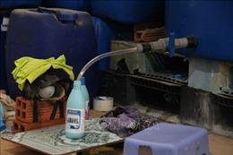 Phát hiện vụ làm giả nước tẩy rửa quy mô lớn ở Bình Dương