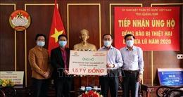 Hỗ trợ người dân Quảng Nam bị thiệt hại do mưa bão