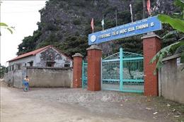Khẩn trương xây dựng đủ phòng học tại Trường Tiểu học Gia Thịnh B