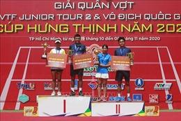 Lý Hoàng Nam và Trần Thụy Thanh Trúc vô địch giải quần vợt quốc gia năm 2020